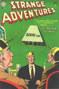 Cover Thumbnail for Strange Adventures (DC, 1950 series) #49