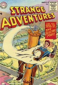Cover Thumbnail for Strange Adventures (DC, 1950 series) #54