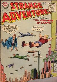 Cover Thumbnail for Strange Adventures (DC, 1950 series) #56