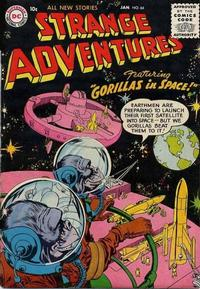 Cover for Strange Adventures (DC, 1950 series) #64