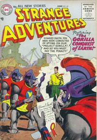 Cover Thumbnail for Strange Adventures (DC, 1950 series) #69