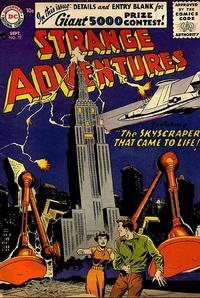 Cover Thumbnail for Strange Adventures (DC, 1950 series) #72