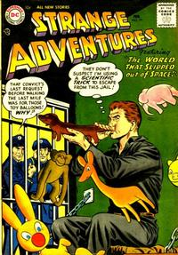 Cover Thumbnail for Strange Adventures (DC, 1950 series) #77
