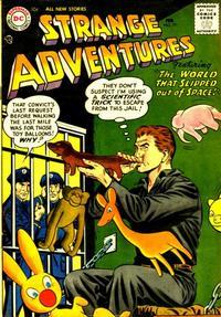 Cover Thumbnail for Strange Adventures (DC, 1950 series) #77
