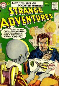 Cover Thumbnail for Strange Adventures (DC, 1950 series) #80