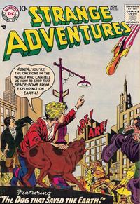 Cover Thumbnail for Strange Adventures (DC, 1950 series) #86