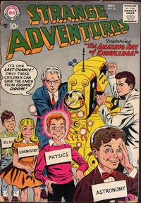 Cover Thumbnail for Strange Adventures (DC, 1950 series) #92