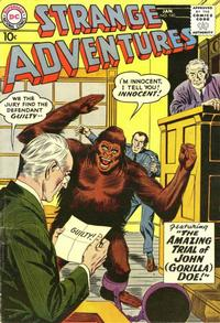 Cover Thumbnail for Strange Adventures (DC, 1950 series) #100