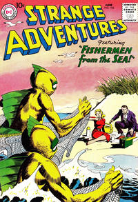 Cover for Strange Adventures (DC, 1950 series) #105