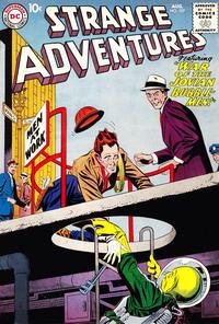 Cover Thumbnail for Strange Adventures (DC, 1950 series) #107