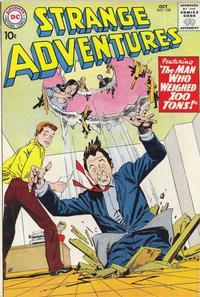 Cover Thumbnail for Strange Adventures (DC, 1950 series) #109