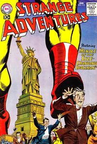 Cover for Strange Adventures (DC, 1950 series) #112