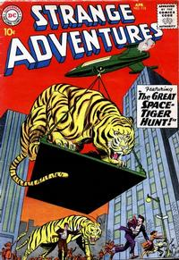 Cover Thumbnail for Strange Adventures (DC, 1950 series) #115