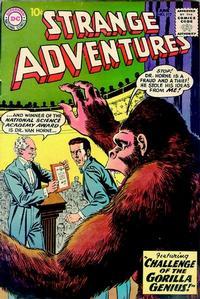 Cover Thumbnail for Strange Adventures (DC, 1950 series) #117