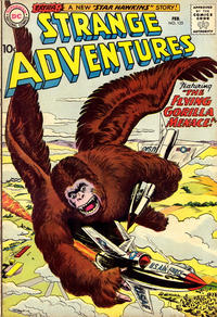 Cover Thumbnail for Strange Adventures (DC, 1950 series) #125