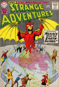 Cover Thumbnail for Strange Adventures (DC, 1950 series) #127