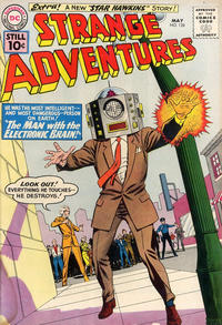Cover Thumbnail for Strange Adventures (DC, 1950 series) #128