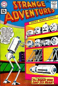 Cover Thumbnail for Strange Adventures (DC, 1950 series) #136