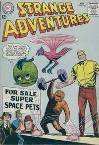 Cover Thumbnail for Strange Adventures (DC, 1950 series) #166