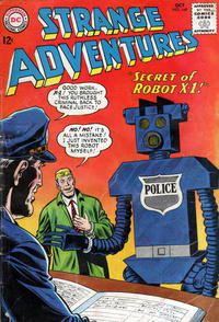 Cover Thumbnail for Strange Adventures (DC, 1950 series) #169