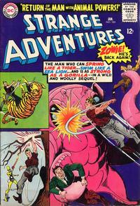 Cover Thumbnail for Strange Adventures (DC, 1950 series) #184