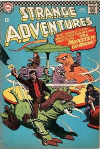 Cover Thumbnail for Strange Adventures (DC, 1950 series) #189