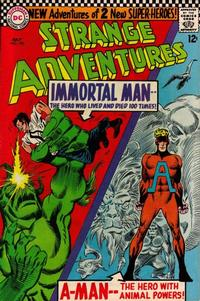 Cover Thumbnail for Strange Adventures (DC, 1950 series) #190