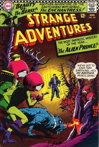 Cover Thumbnail for Strange Adventures (DC, 1950 series) #191