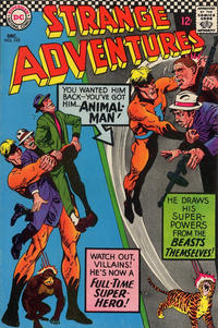 Cover Thumbnail for Strange Adventures (DC, 1950 series) #195