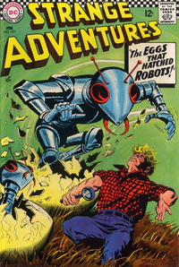 Cover Thumbnail for Strange Adventures (DC, 1950 series) #197