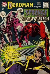 Cover Thumbnail for Strange Adventures (DC, 1950 series) #214