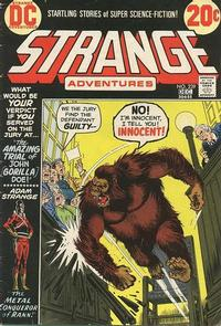Cover Thumbnail for Strange Adventures (DC, 1950 series) #239