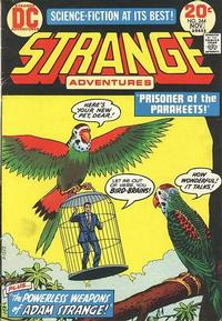 Cover Thumbnail for Strange Adventures (DC, 1950 series) #244