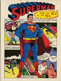 Cover Thumbnail for Superman from the Thirties to the Seventies (Crown Publishers, 1971 series)  [Original Edition]