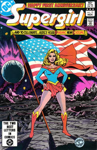 Cover Thumbnail for The Daring New Adventures of Supergirl (DC, 1982 series) #13 [Direct]