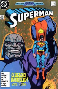 Cover Thumbnail for Superman (DC, 1987 series) #3 [Direct]