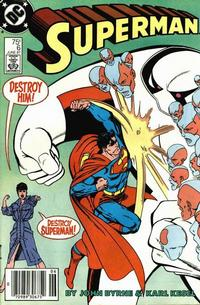 Cover Thumbnail for Superman (DC, 1987 series) #6 [Newsstand]