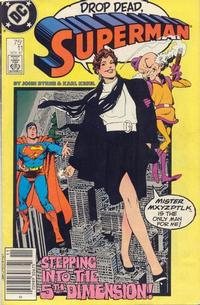 Cover Thumbnail for Superman (DC, 1987 series) #11 [Newsstand]
