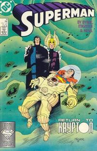 Cover Thumbnail for Superman (DC, 1987 series) #18 [Direct]