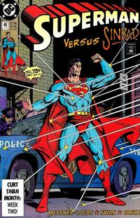 Cover Thumbnail for Superman (DC, 1987 series) #48 [Direct]
