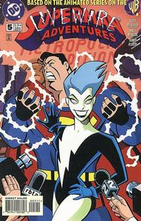 Cover Thumbnail for Superman Adventures (DC, 1996 series) #5
