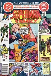 Cover Thumbnail for The Superman Family (DC, 1974 series) #207 [Newsstand]