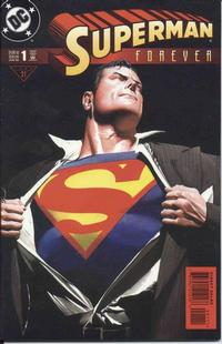 Cover Thumbnail for Superman Forever (DC, 1998 series) #1 [Direct Sales - Standard]
