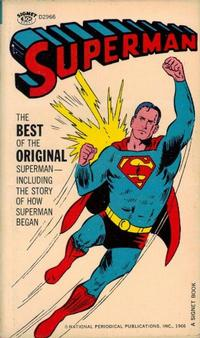 Cover Thumbnail for Superman (New American Library, 1966 series) #D2966