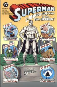 Cover for Superman: Whatever Happened to the Man of Tomorrow? (DC, 1997 series)  [1st printing]