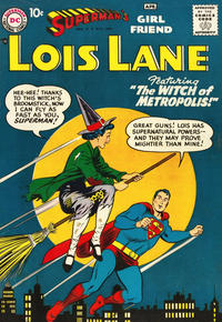 Cover Thumbnail for Superman's Girl Friend, Lois Lane (DC, 1958 series) #1
