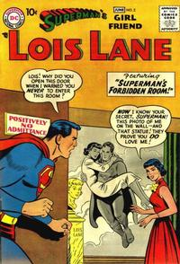 Cover Thumbnail for Superman's Girl Friend, Lois Lane (DC, 1958 series) #2