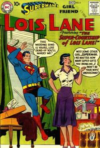 Cover Thumbnail for Superman's Girl Friend, Lois Lane (DC, 1958 series) #4