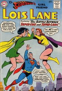 Cover Thumbnail for Superman's Girl Friend, Lois Lane (DC, 1958 series) #21