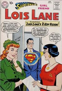Cover Thumbnail for Superman's Girl Friend, Lois Lane (DC, 1958 series) #22
